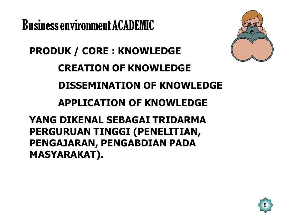 26 Penutup 1.Tantangan hanya dapat dijawab oleh UKM dengan mewujudkan keunggulan akademik (academic exellence).