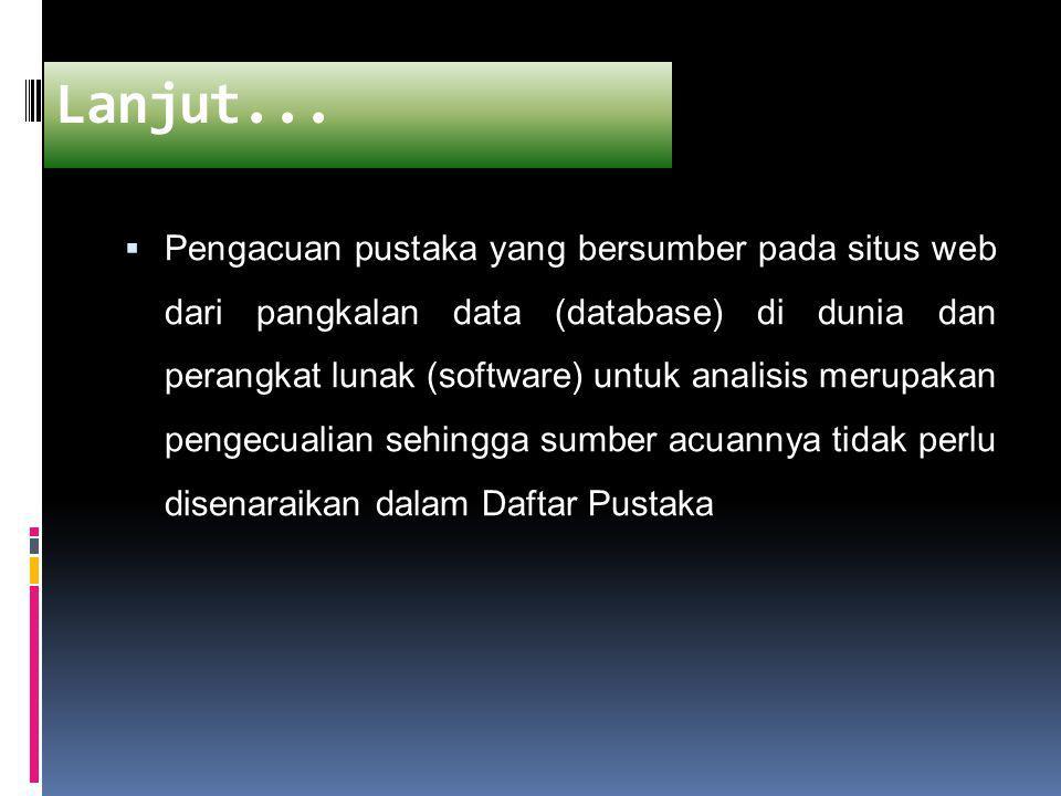 J.Teladan Umum untuk Dokumen N-T [IPB] Institut Pertanian Bogor.
