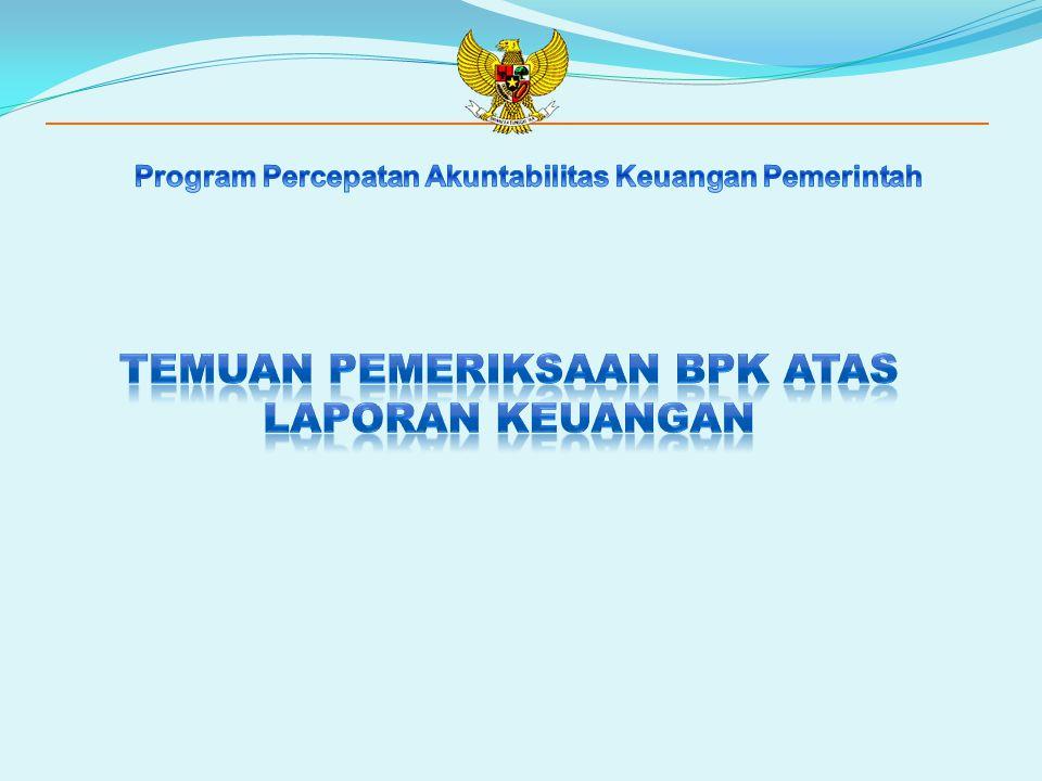 KETENTUAN  Presiden menyampaikan RUU tentang pertanggungjawaban pelaksanaan APBN kepada DPR berupa laporan keuangan yang telah diperiksa oleh BPK, selambat-lambatnya 6 (enam) bulan setelah tahun anggaran berakhir.