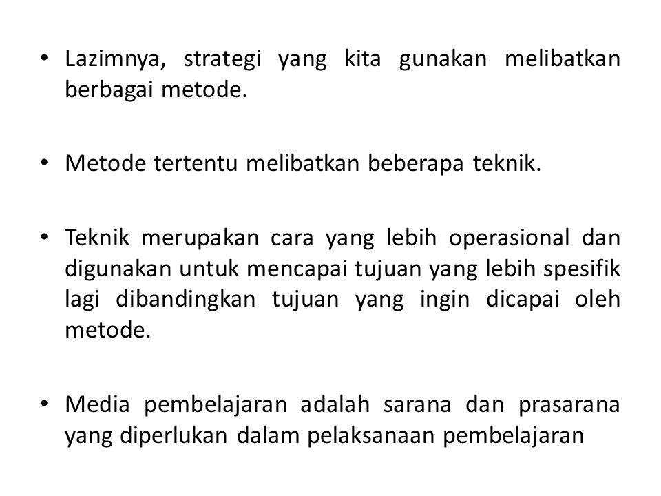 G.Strategi Pembelajaran : (tetap) H. Metode : (tetap) I.