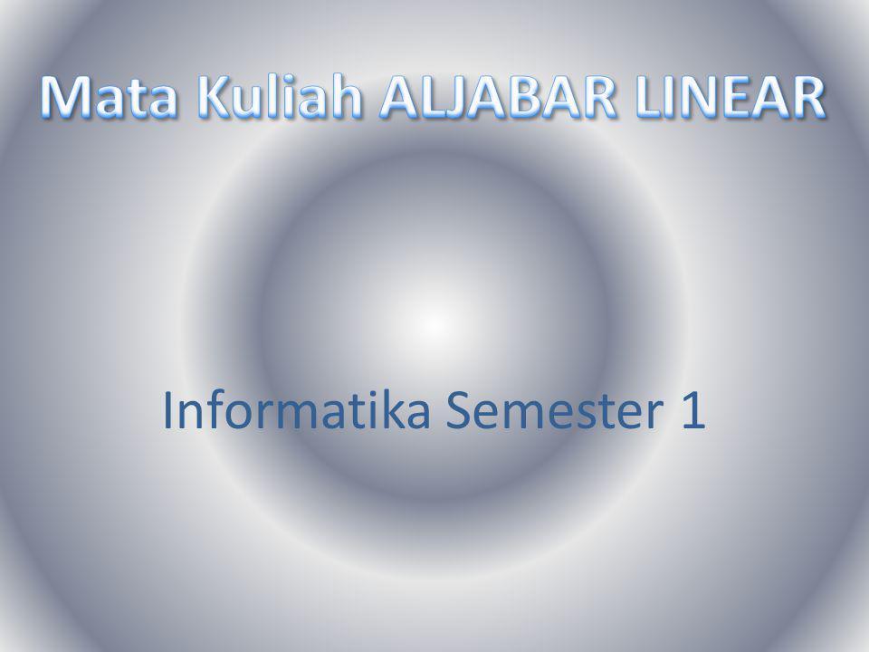 Informatika Semester 1