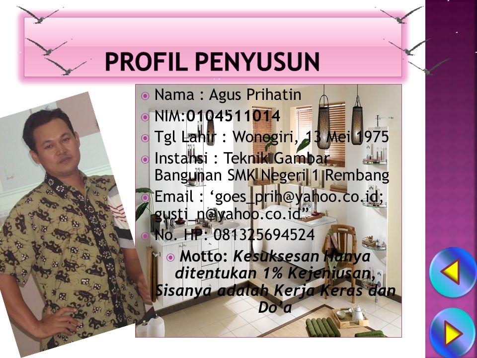 ☺ Profil Materi  Home   Exit LANJUT