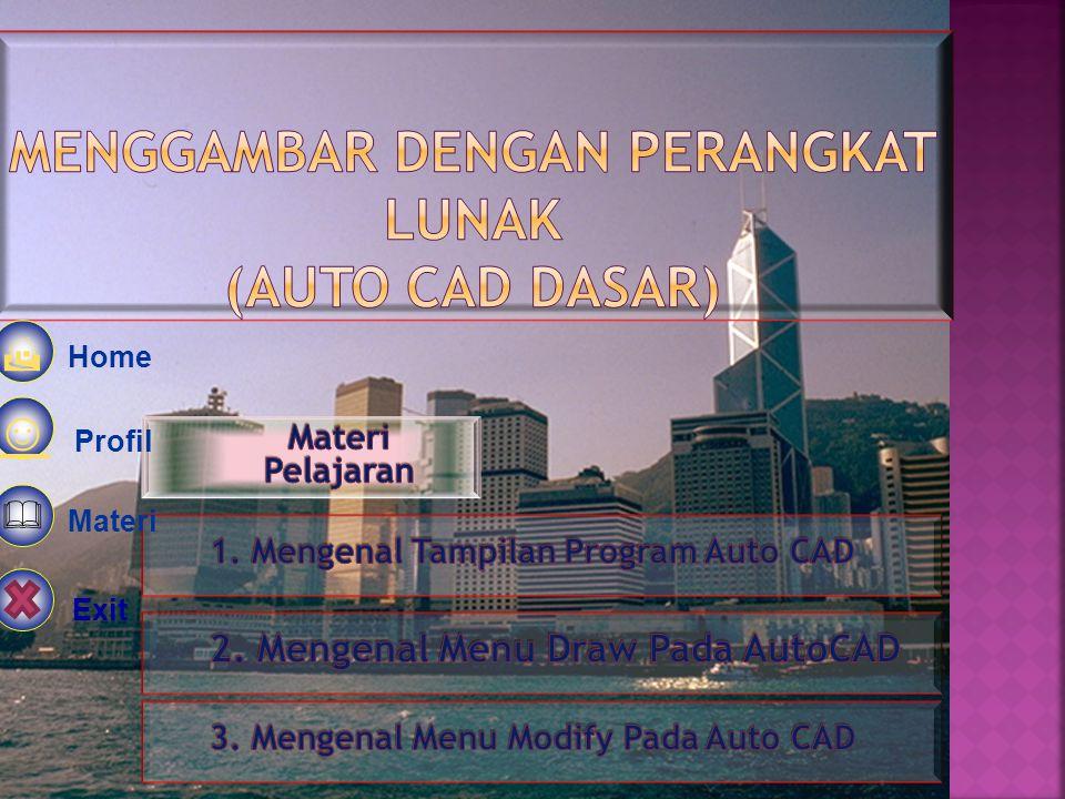 Home Kompetensi Materi  Latihan ☺ Author  Exit   