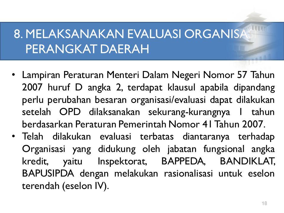 Lanjutan Implementasi... 17 3)Unit Pengendali Gratifikasi (UPG) -Pemerintah Provinsi Jawa Barat sedang melaksanakan proses pembentukan Unit Pengendali