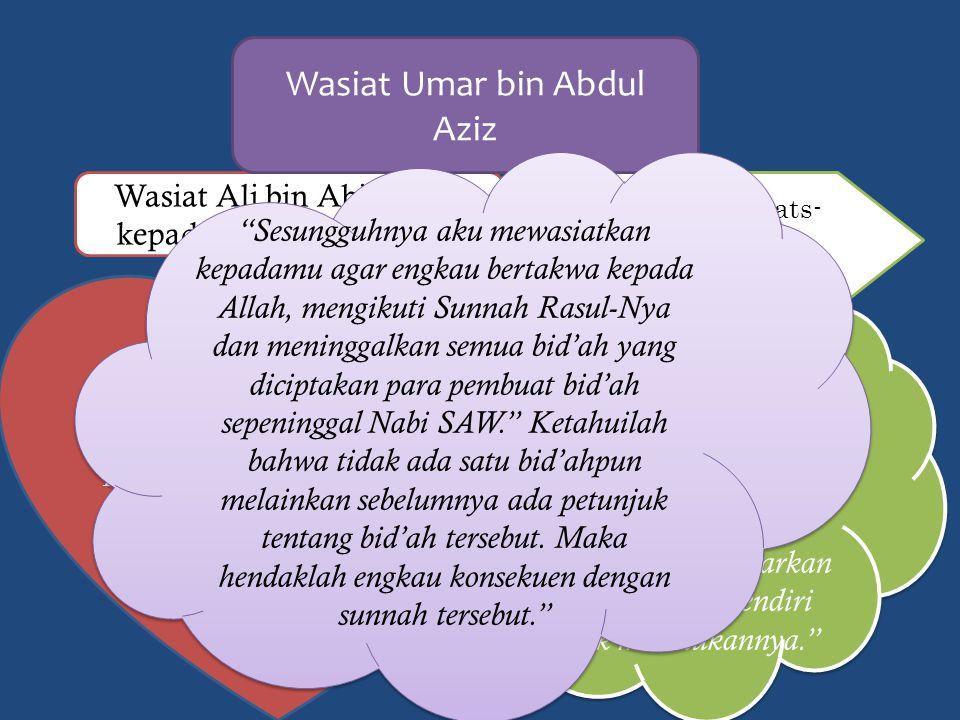 Ulama salaf Wasiat Ali bin Abi Thalib kepada Kumail bin Ziyad Hai Kumail, sesungguhnya hati adalah wadah dan hati yang paling baik adalah hati yang sadar.