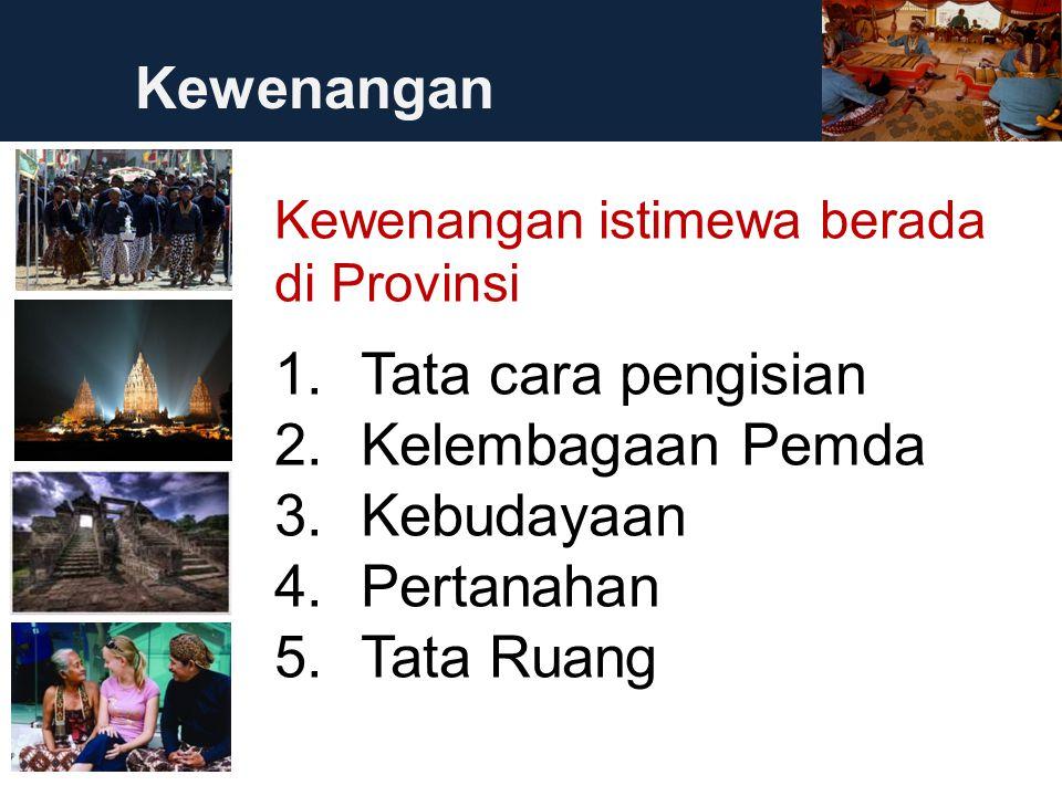 34 2.Membangun ke-Indonesiaan dari DIY; 3. Mempertahankan nilai-nilai tradisi masyarakat; 4.