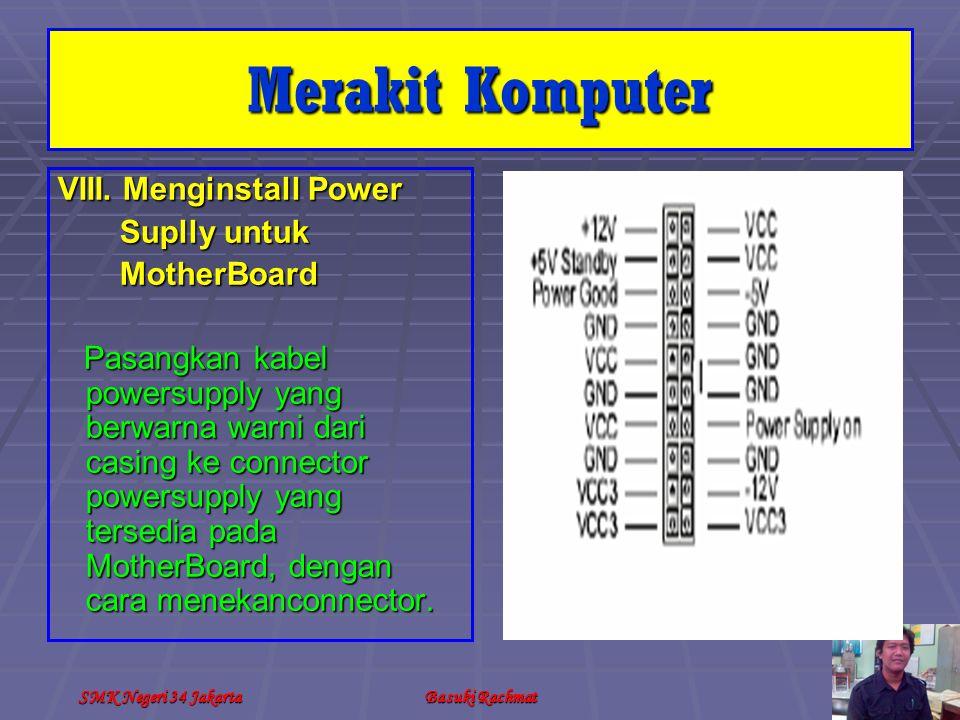 SMK Negeri 34 JakartaBasuki Rachmat VIII.