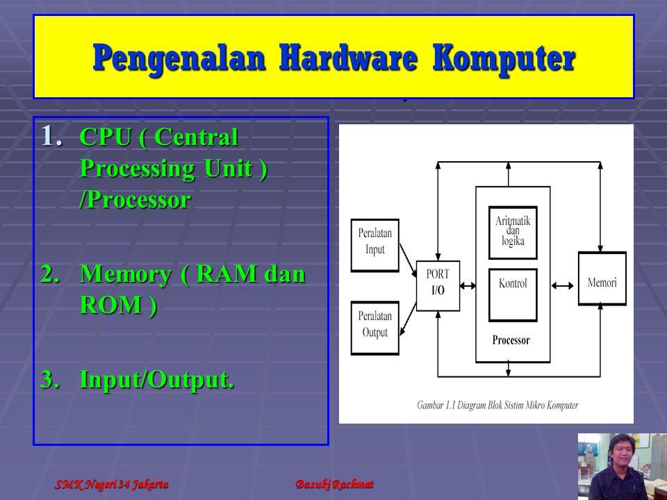 SMK Negeri 34 JakartaBasuki Rachmat Merakit Komputer XI.
