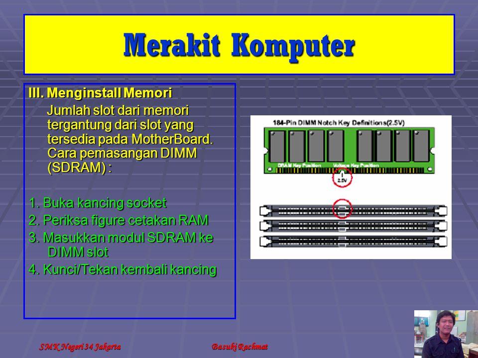 SMK Negeri 34 JakartaBasuki Rachmat III.
