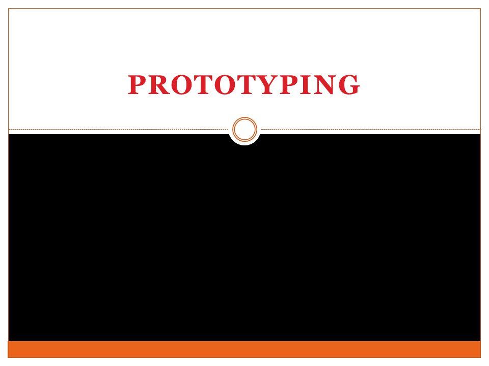 Pendahuluan Prototipe merupakan simulasi atau animasi dari bakal sistem.