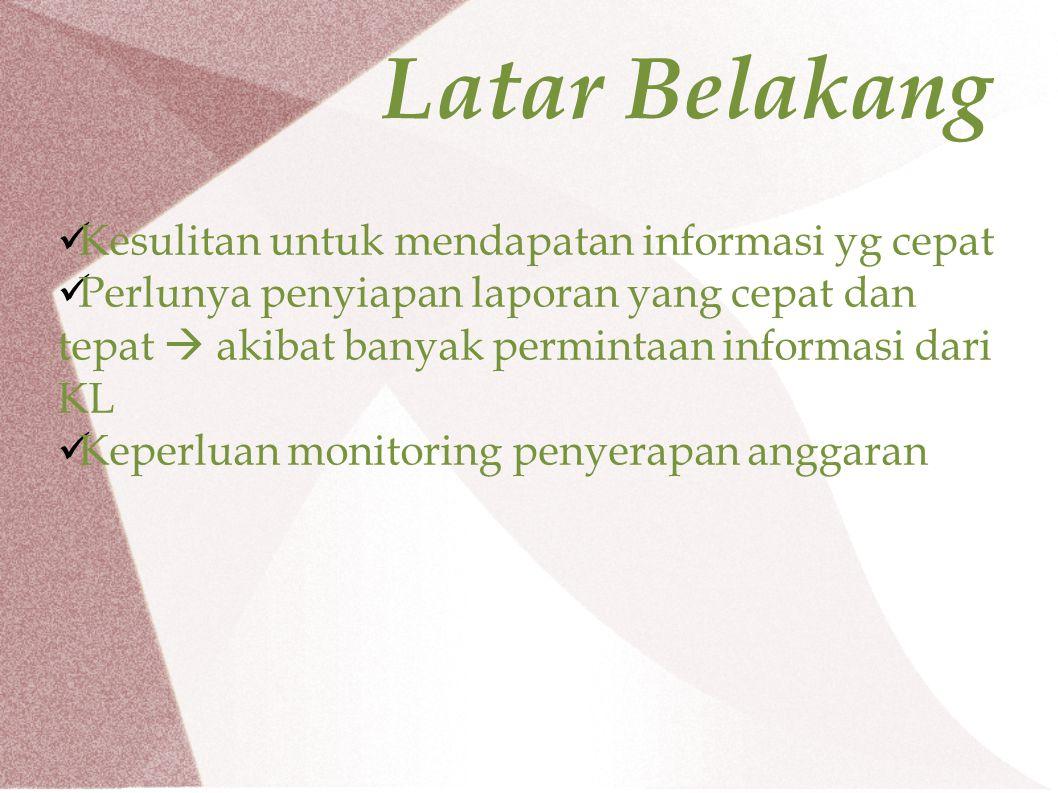 Manfaat Sinkronisasi kegiatan BAPETEN dengan sub output, output, kegiatan dan Program Nasional sesuai RKAKL.