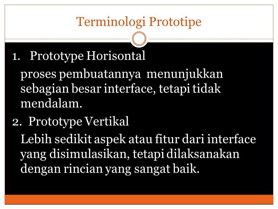 Terminologi Prototipe 1.