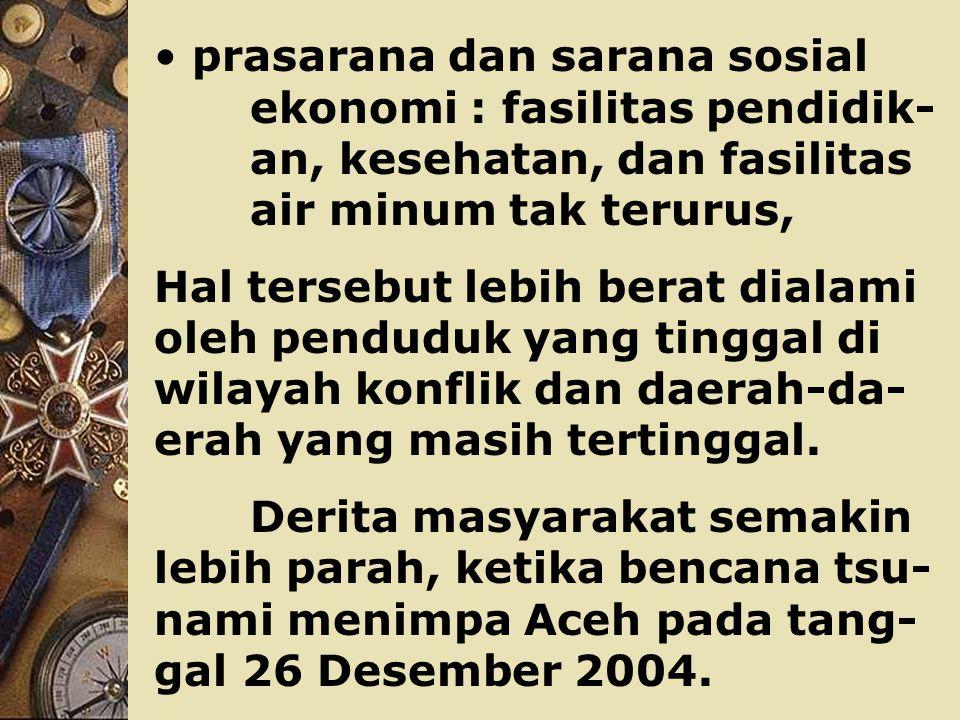 selama periode 2000-2004, lebih rendah dibandingkan dengan rata- rata Sumatera (2,14 %) dan rata- rata pertumbuhan PDB per kapita nasional (2,47 %).