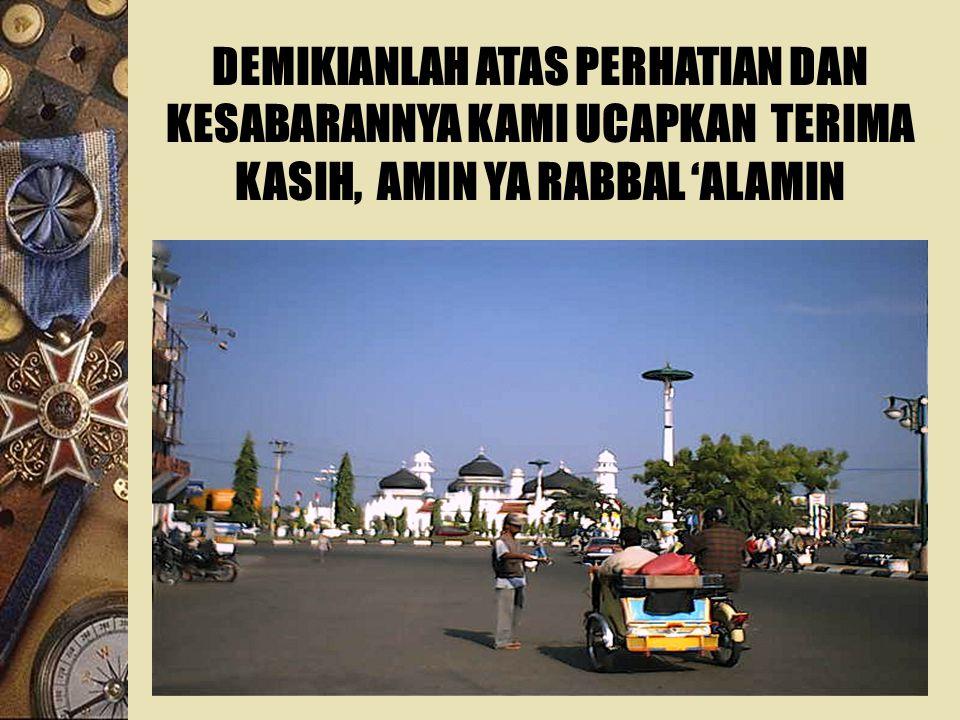  Rekonstruksi Aceh dalam proses alokasi sumber daya harus mampu mengangkat dan meningkatkan per- ekonomian rakyat, meliputi usaha- usaha mikro, kecil, dan menengah.
