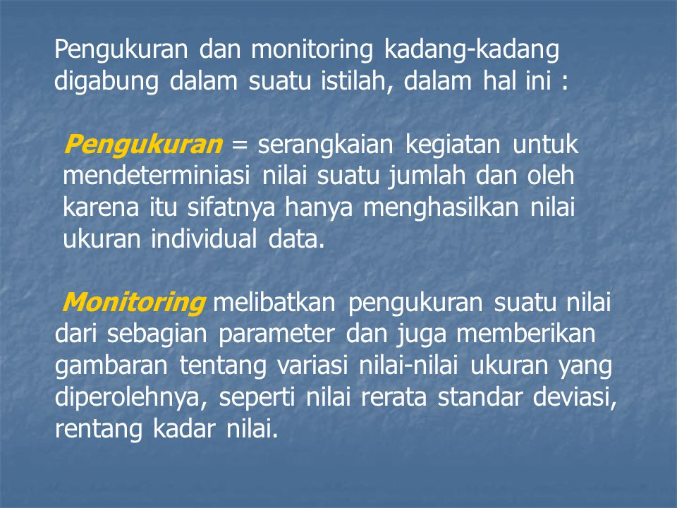 MONITORING POLUTAN 2.2.