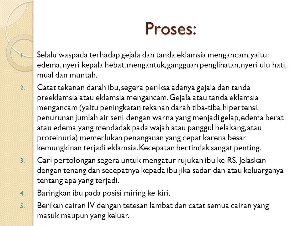 Lanjutan… Proses 13.