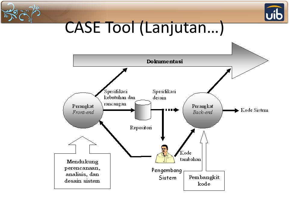 CASE Tool (Lanjutan…)