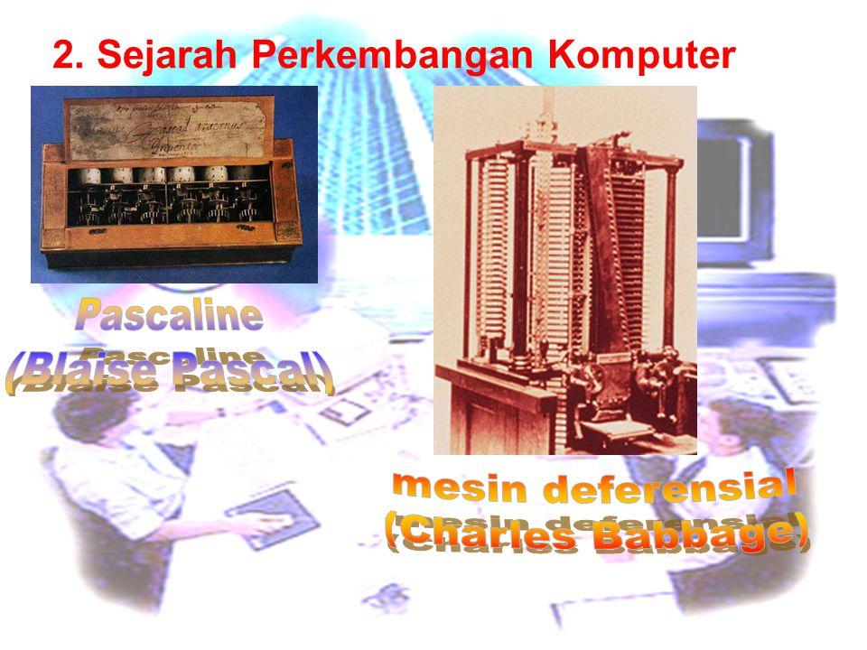 2. Sejarah Perkembangan Komputer