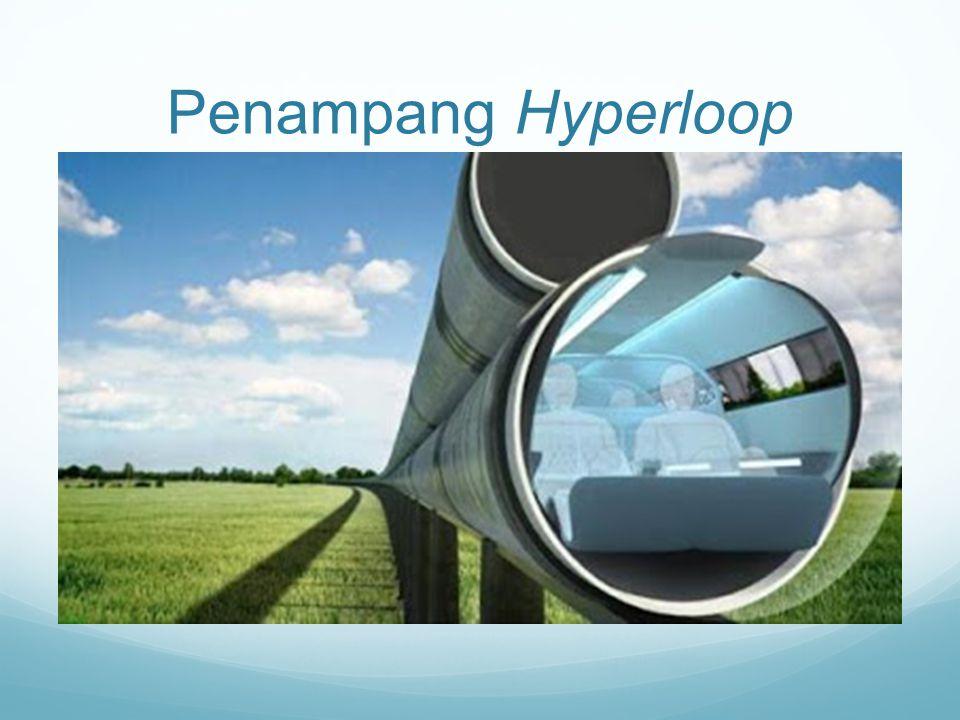 Terbuat dari apa Hyperloop.Kapsul ini tertutup tabung baja bertekanan rendah.