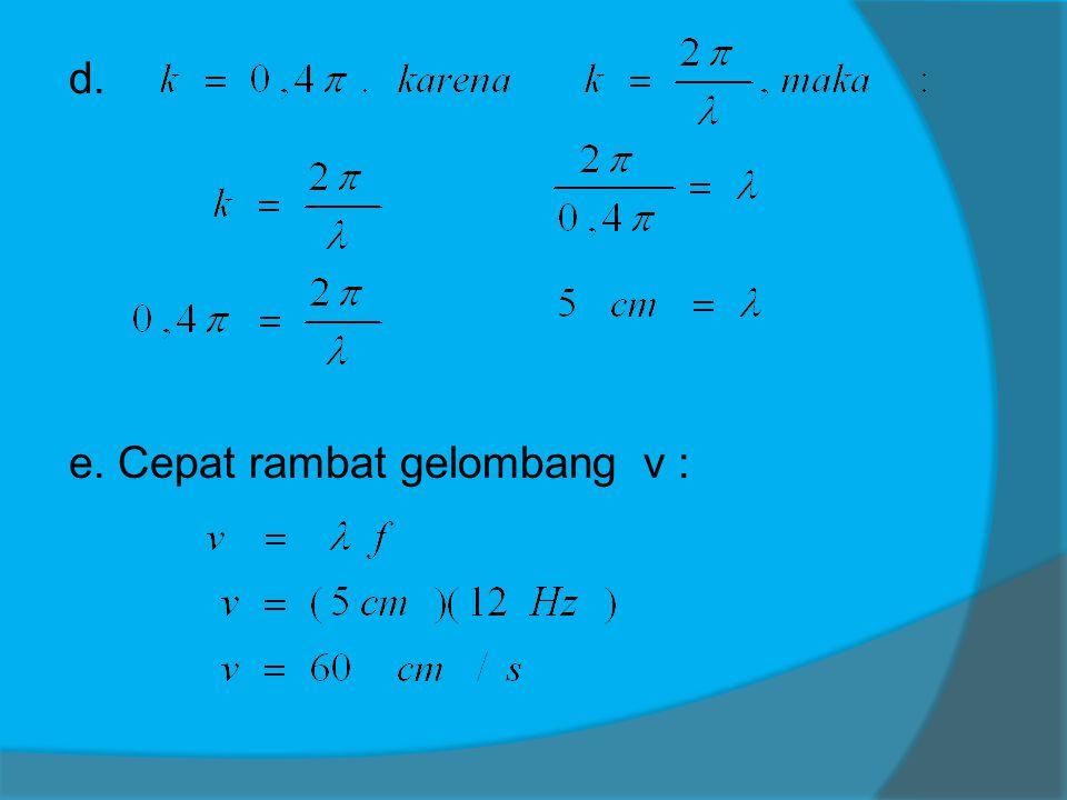Latihan 1 Persamaan gel.