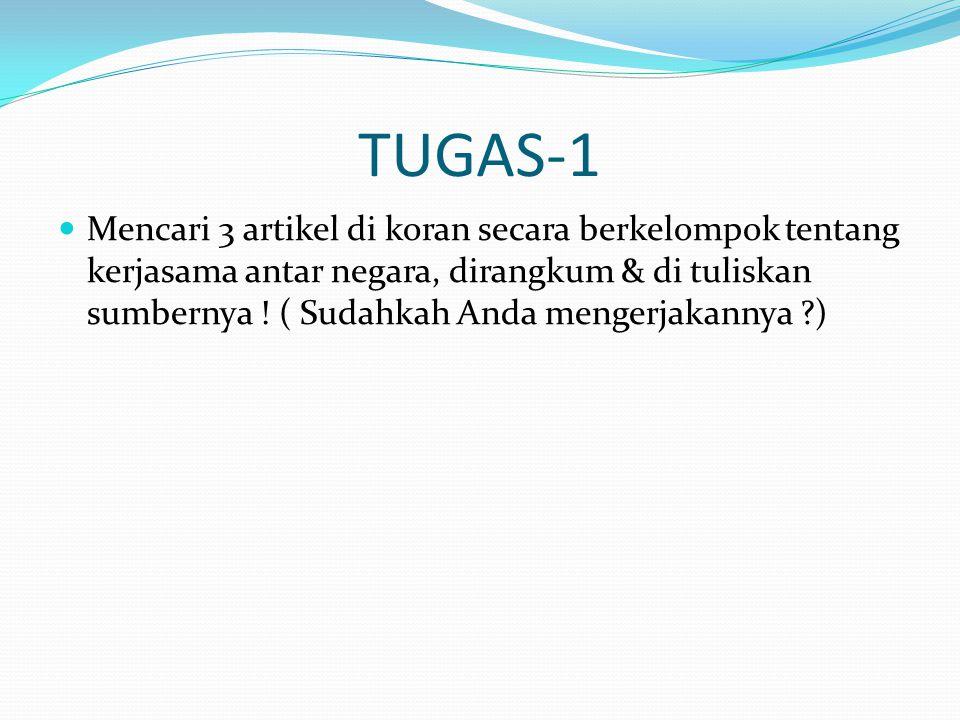 2.Pentingnya Globalisasi di Indonesia Yaitu : a.mempermudah mengembangkan berbagai kemajuan yang dicapai negara lain b.mempermudah hubungan kerja sama