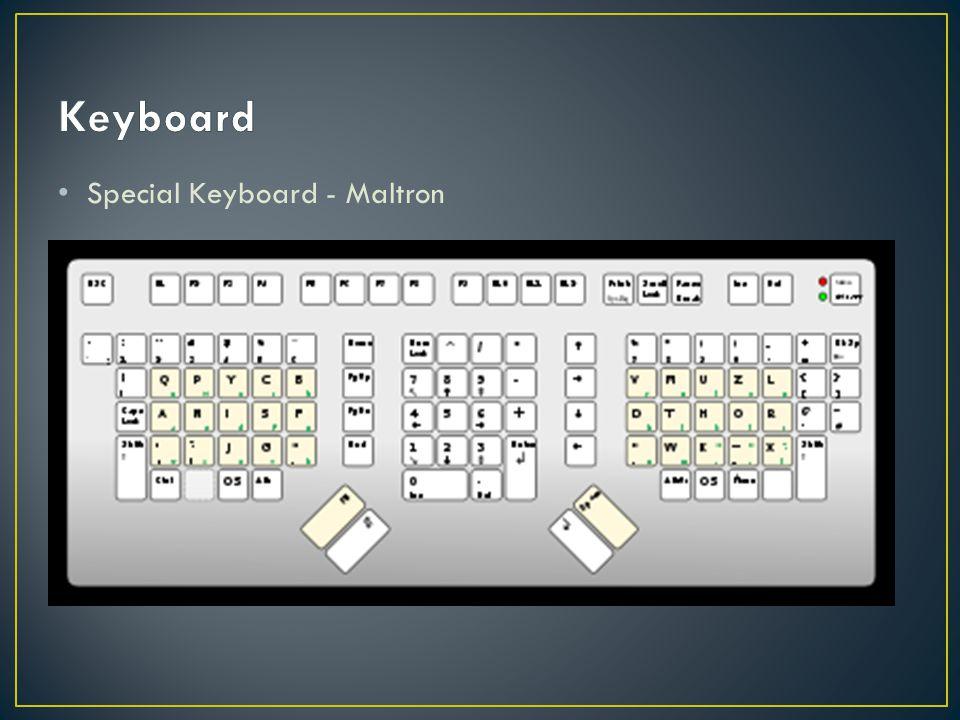 Special Keyboard - Maltron