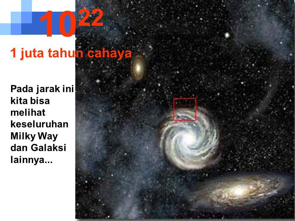 Kita mulai bisa melihat tepi dari Milky Way 10 21 100.000 tahun cahaya