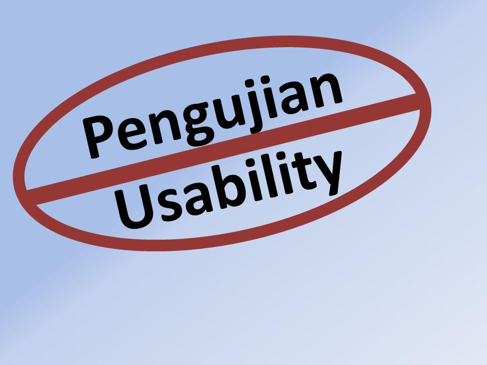 Pengujian Usability
