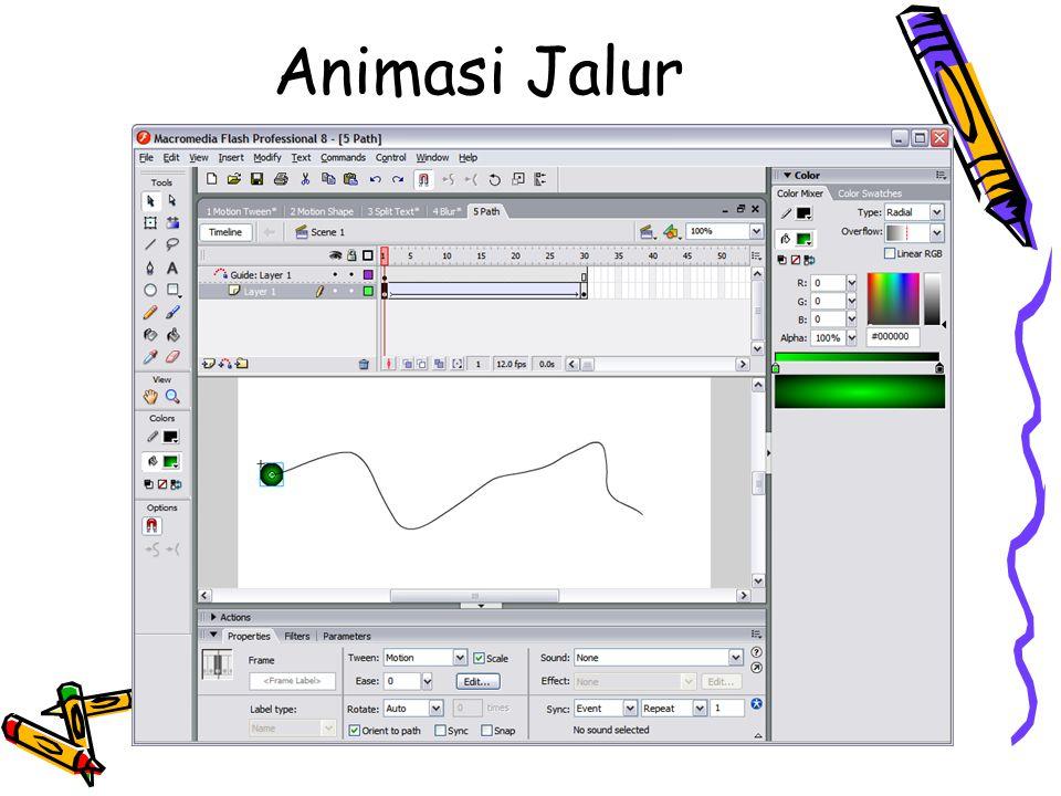 Animasi Jalur