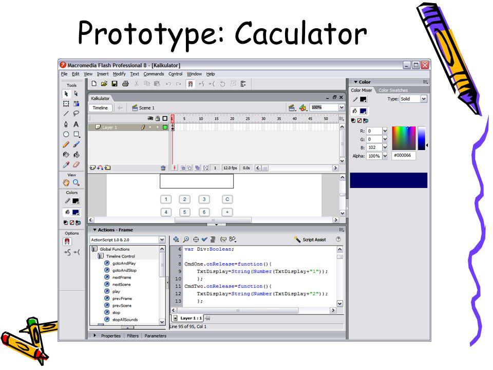 Prototype: Caculator