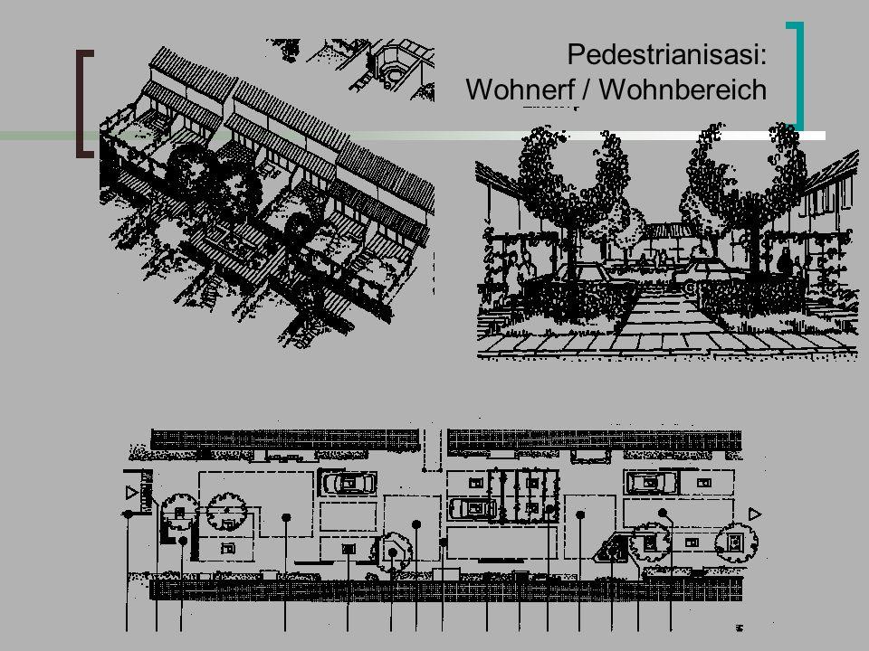 Pedestrianisasi: Wohnerf / Wohnbereich