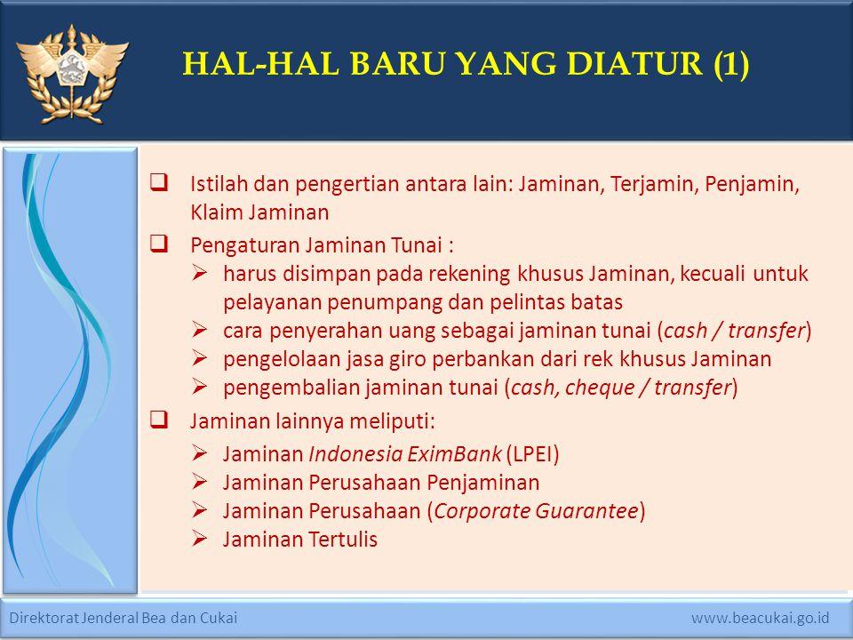 Direktorat Jenderal Bea dan Cukai www.beacukai.go.id..
