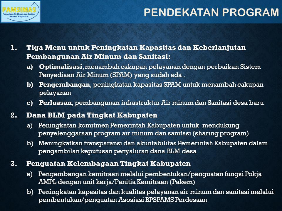 RENCANA KEGIATAN JANUARI – DESEMBER 2014 (LANJUTAN…) 37 24.Workshop Rekonsiliasi Tindak Lanjut Laporan Audit BPKP CK/Satker Pamsimas/BPKP November 2014 25.Rapat Koordinasi Tingkat Nasional (Rakornas) CK/Satker Pamsimas M I Des 2014 26.Workshop Regional Asosiasi tingkat kab/kota dan provinsi CK/Advisory November 2014 27Lokalatih Penyusunan RAD-AMPLCK/Satker Pamsimas/Bang da.