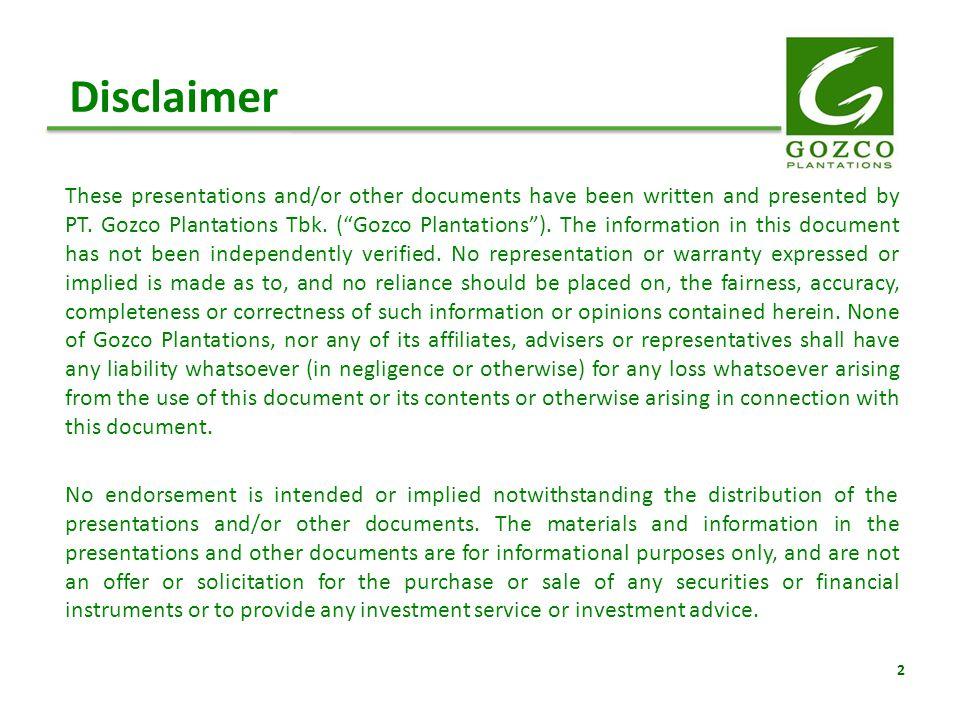 Tentang Gozco Plantations Tbk.