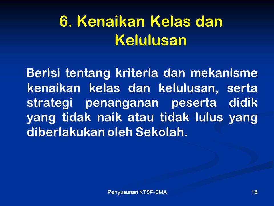 Penyusunan KTSP-SMA17 7.