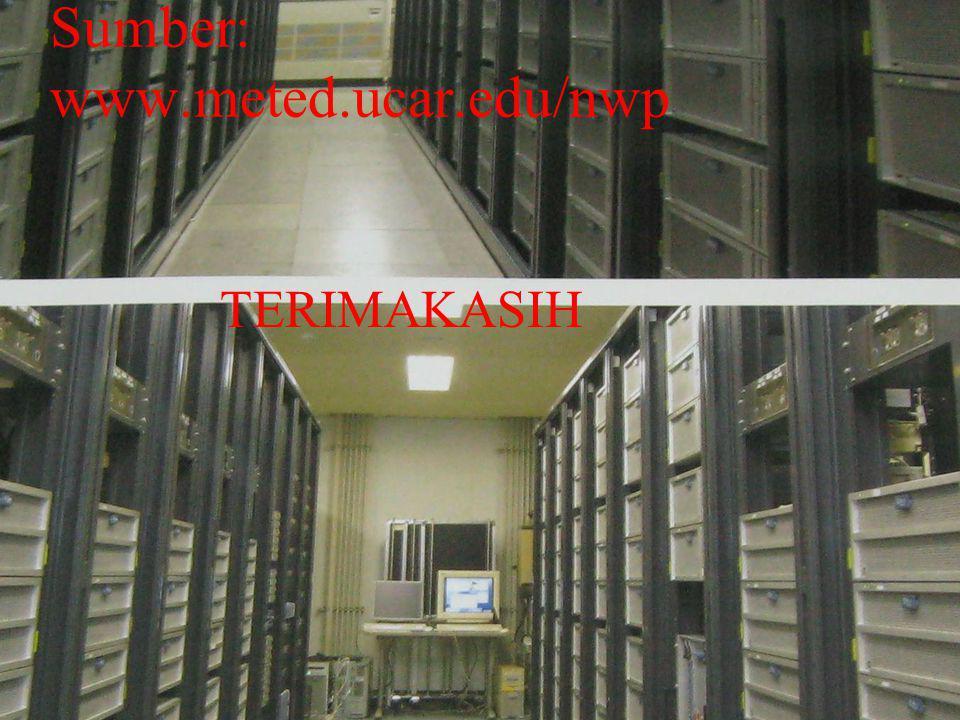 Sumber: www.meted.ucar.edu/nwp TERIMAKASIH
