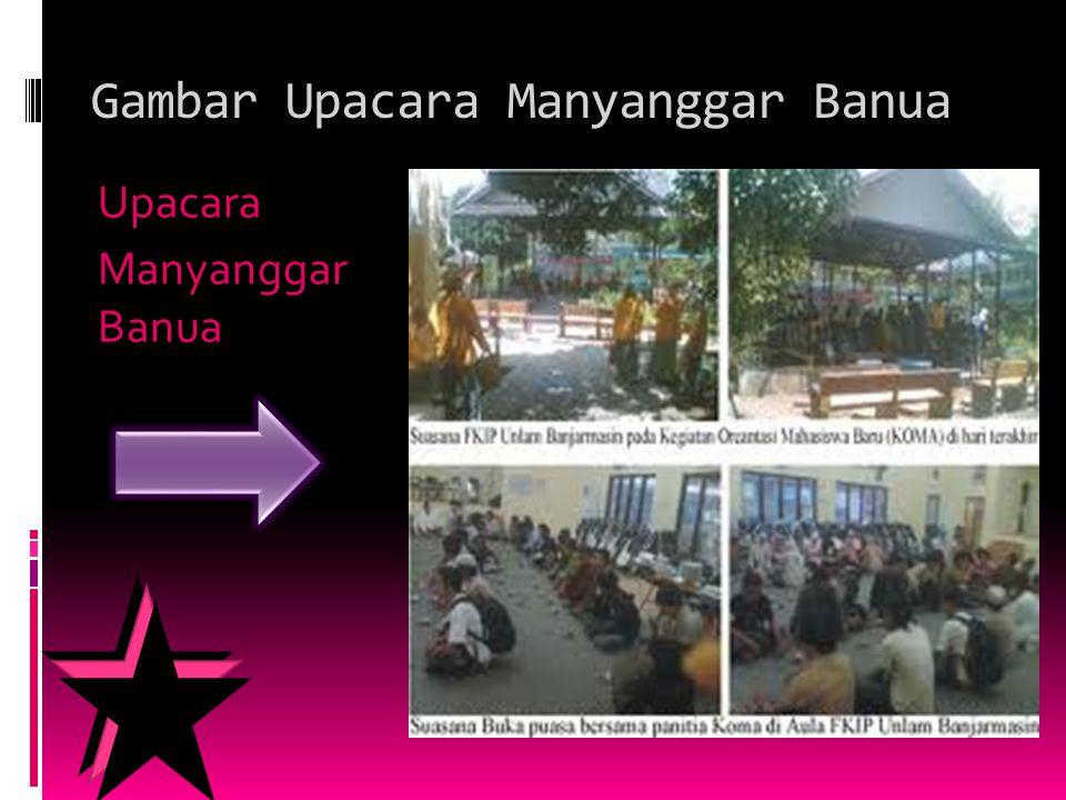 Gambar Upacara Manyanggar Banua Upacara Manyanggar Banua