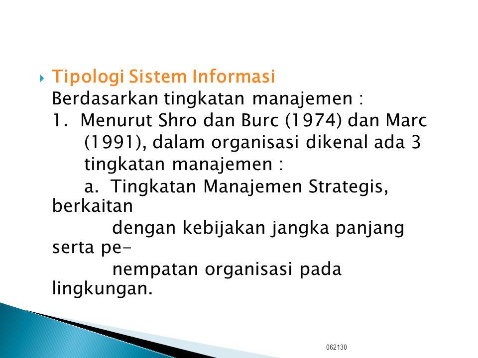  Sistem Informasi Sistem informasi mengumpulkan, mempro- ses, menyimpan, menganalisis, dan me- nyebarkan informasi untuk suatu tujuan khusus. Sistem
