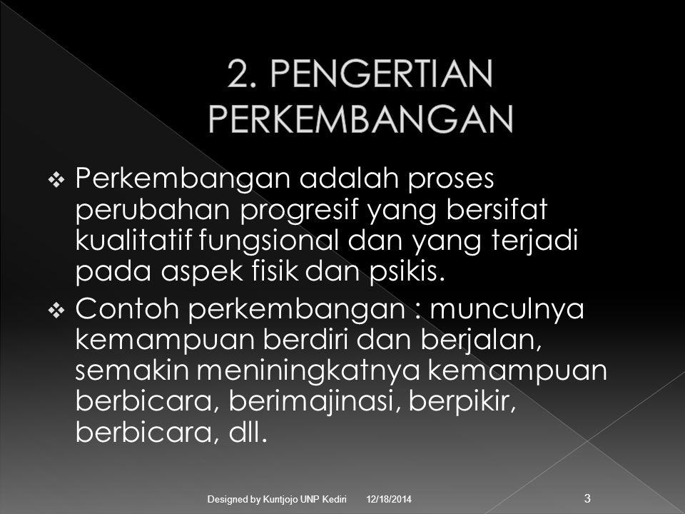12/18/2014Designed by Kuntjojo UNP Kediri 2