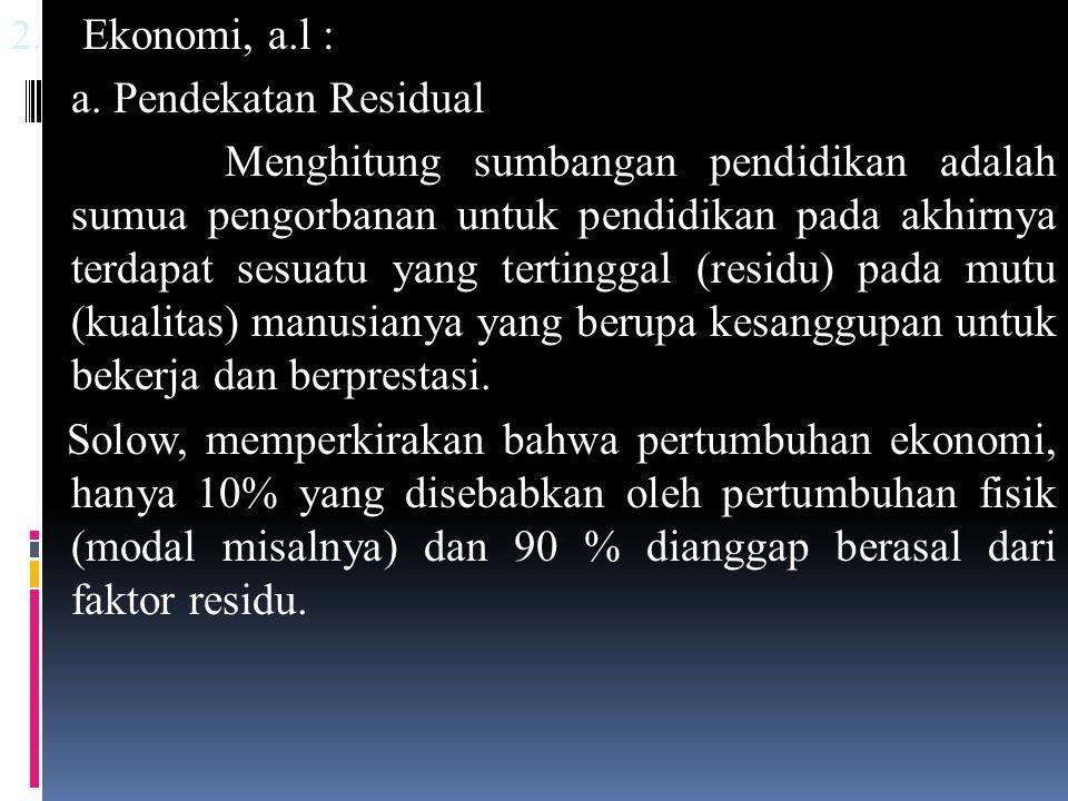 2.Ekonomi, a.l : a.