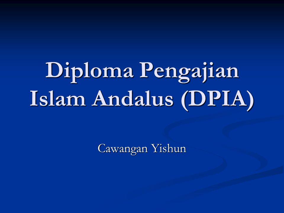 Diploma Pengajian Islam Andalus (DPIA) Cawangan Yishun