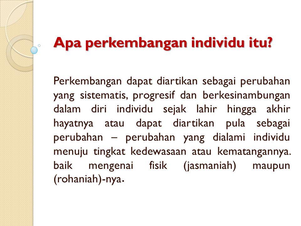3.Perubahan yang fungsional.