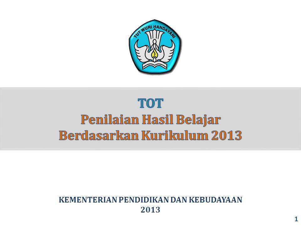 KEMENTERIAN PENDIDIKAN DAN KEBUDAYAAN 2013 1