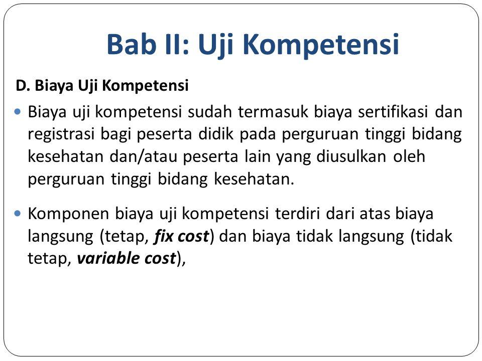 Bab II: Uji Kompetensi D.