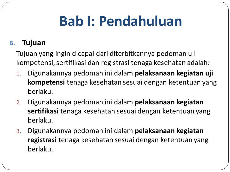 Bab I: Pendahuluan B.