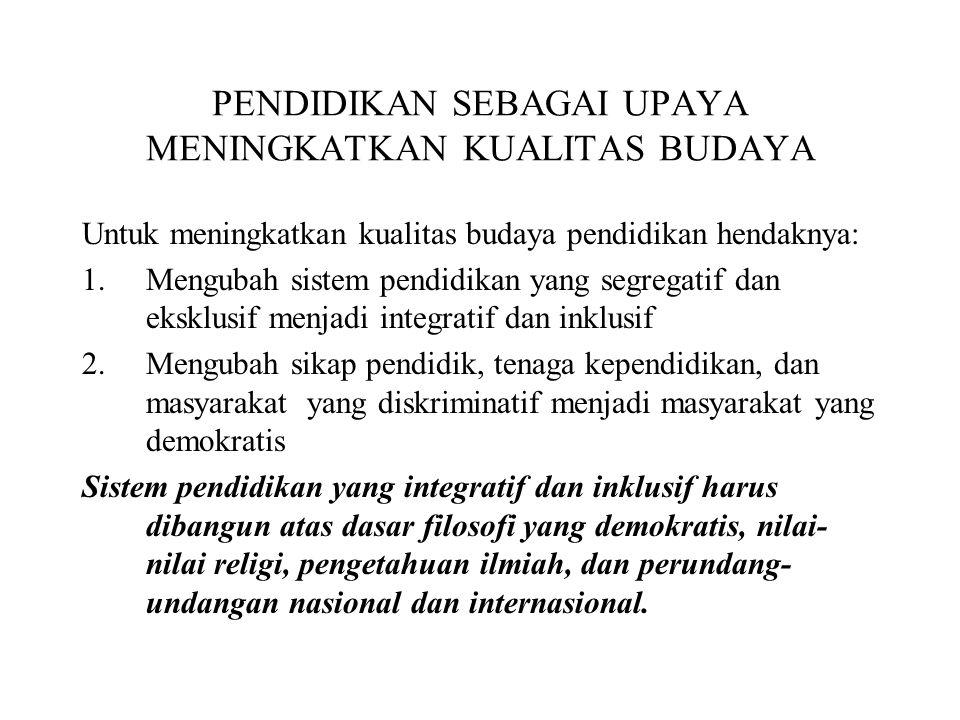 LANDASAN YURIDIS PENDIDIKAN INKLUSIF Declaration of Human Right (1948).