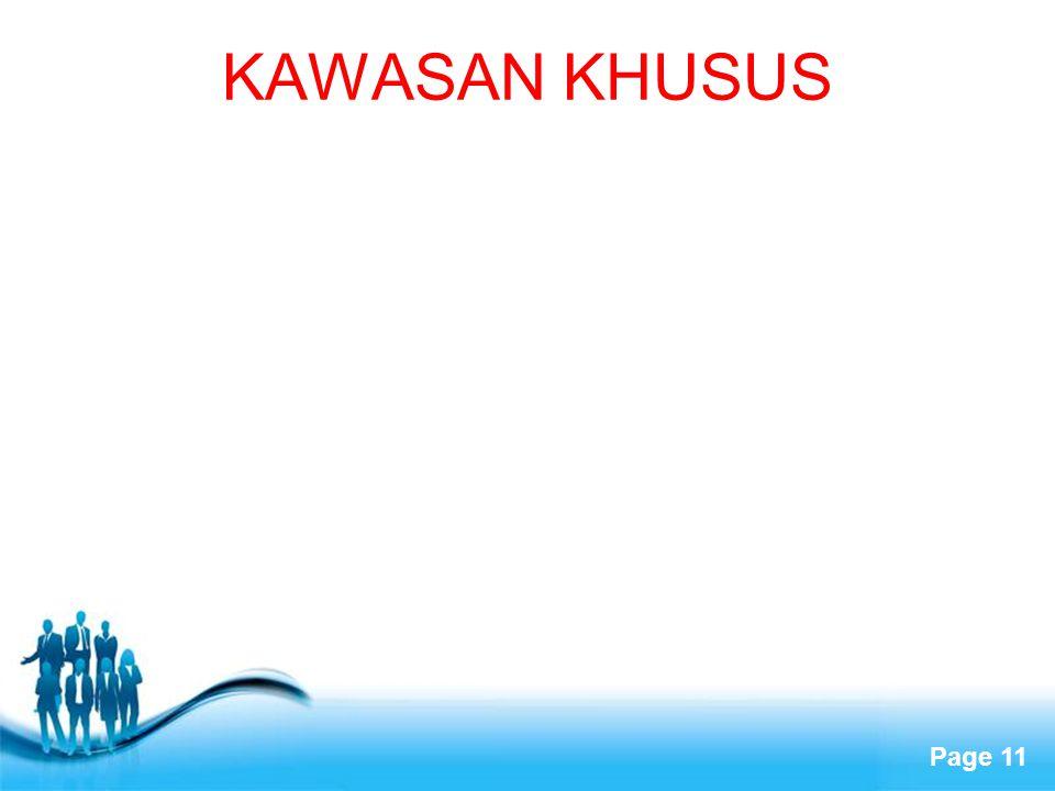 Free Powerpoint Templates Page 11 KAWASAN KHUSUS