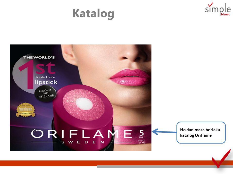 Katalog No dan masa berlaku katalog Oriflame