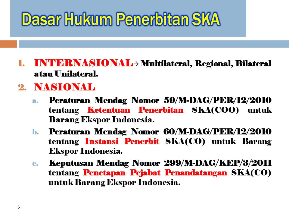 1.INTERNASIONAL  Multilateral, Regional, Bilateral atau Unilateral.