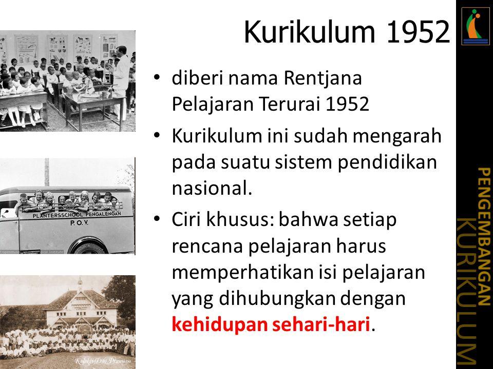 Bahan diskusi Diskusikan dalam kelompok kurikulum mana yang menurut kelompok anda cukup ideal bagi pendidikan di Indonesia.